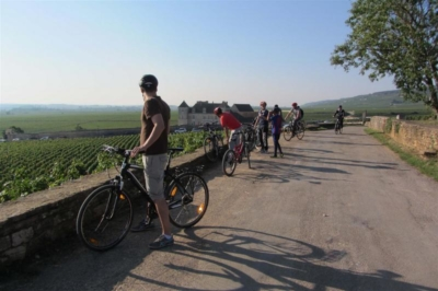 Les grands crus de bourgogne visite a vélo