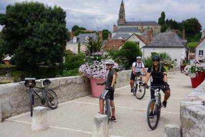 voyage à vélo sur la loire